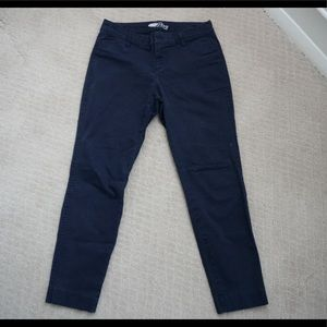 navy old Navy pixie pants